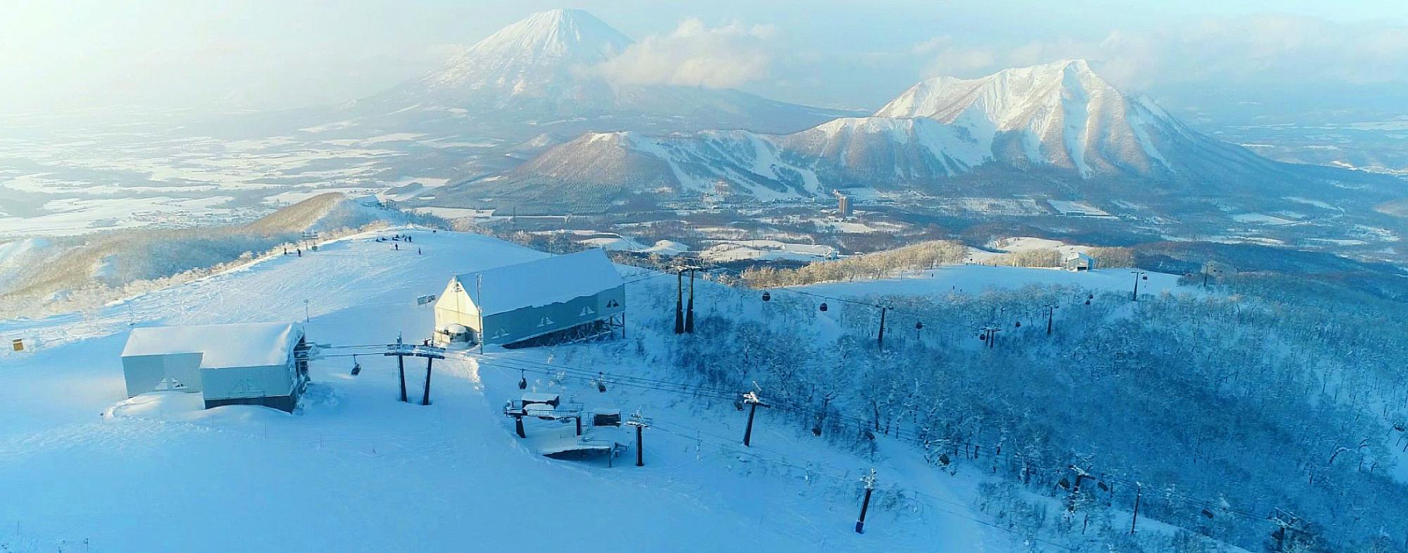 ルスツ スキー場 スキー スノボ